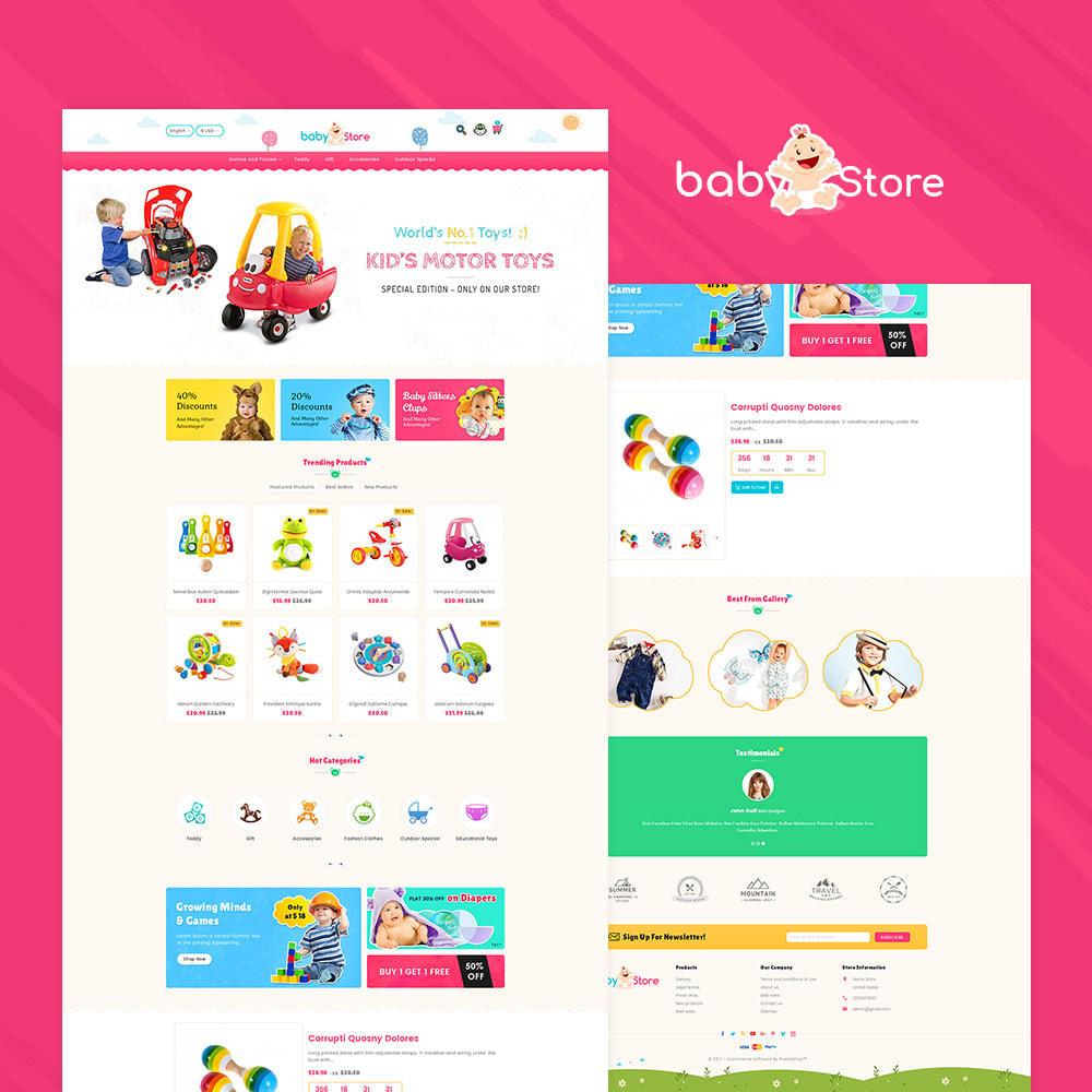 theme - Crianças & Brinquedos - Baby Toy Store - 2