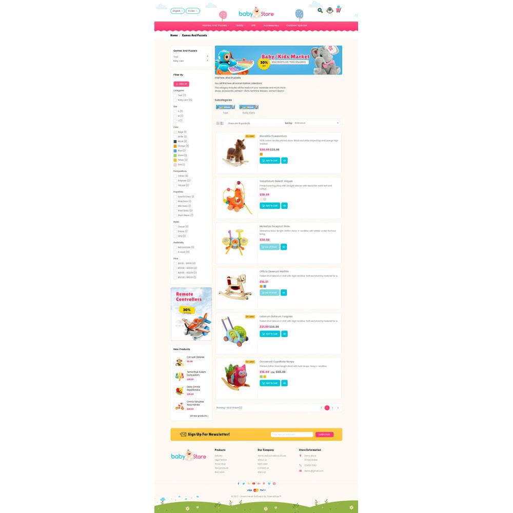 theme - Crianças & Brinquedos - Baby Toy Store - 4