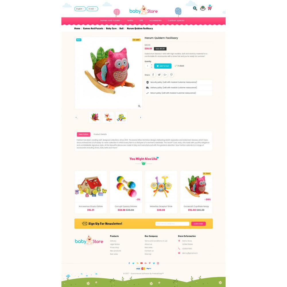 theme - Crianças & Brinquedos - Baby Toy Store - 5