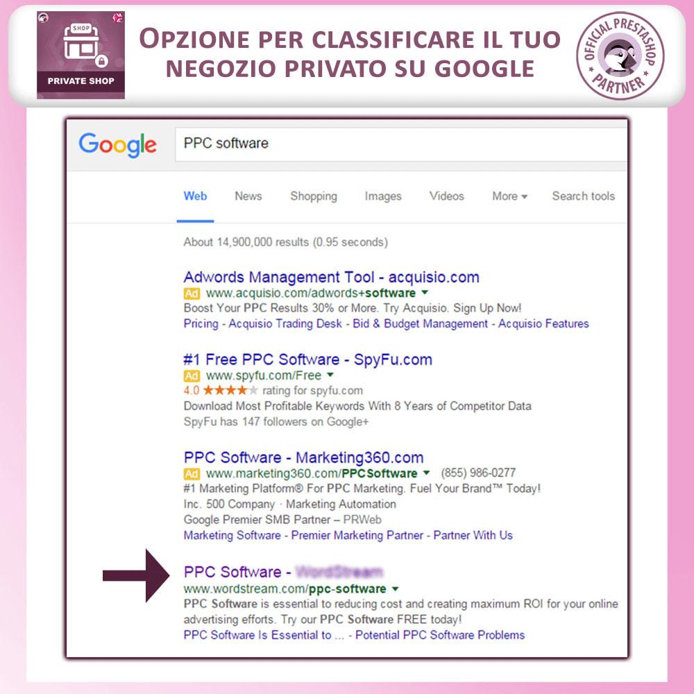 module - Flash & Private Sales - Negozio privato - Accedi per Vedere Prodotti / Negozio - 5