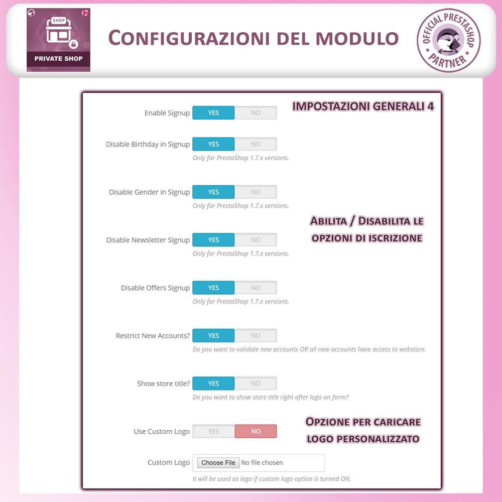 module - Flash & Private Sales - Negozio privato - Accedi per Vedere Prodotti / Negozio - 9