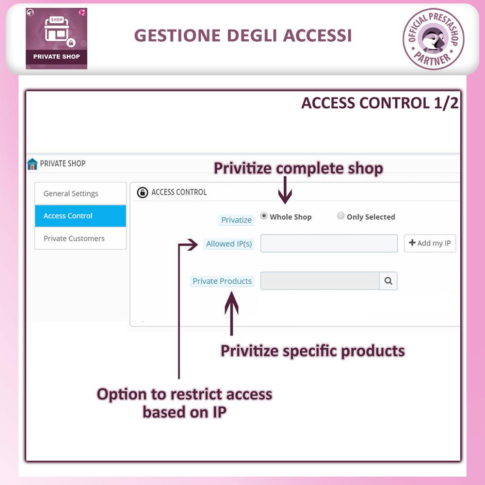 module - Flash & Private Sales - Negozio privato - Accedi per Vedere Prodotti / Negozio - 12