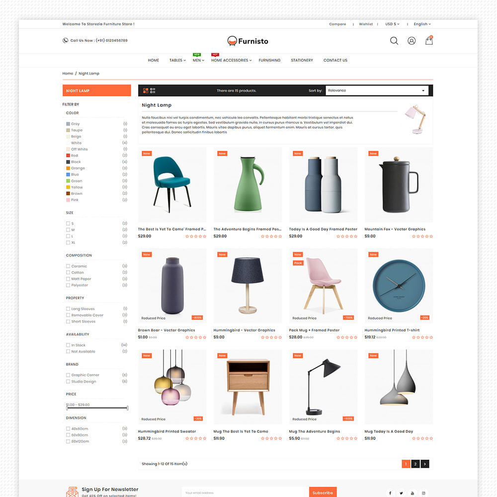 theme - Heim & Garten - Furnisto - Furniture & Interior Decor Store - 9