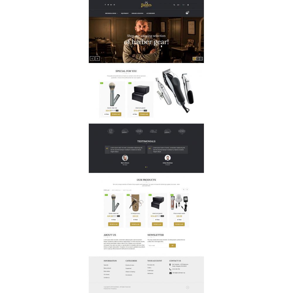 theme - Temas PrestaShop - VP_Barber - Page Builder - 2