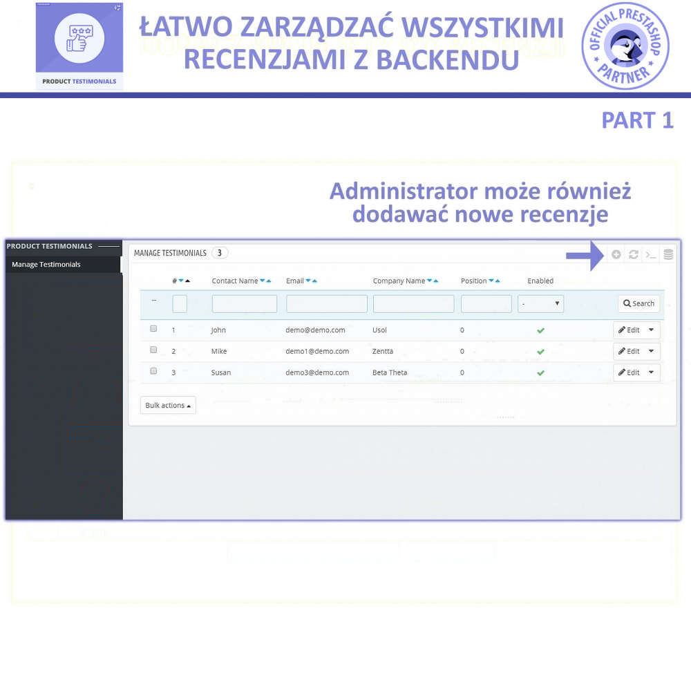 module - Opinie klientów - Recenzje Klientów + Referencje Sklepu - 7