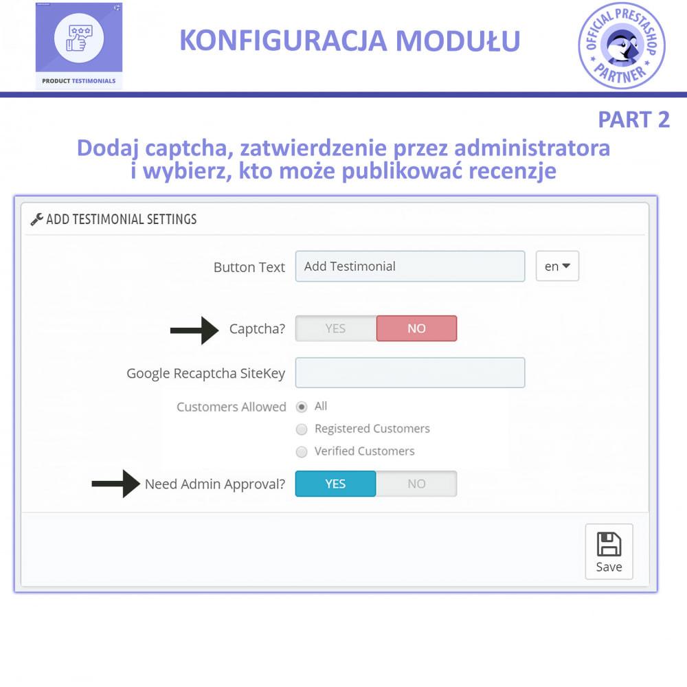 module - Opinie klientów - Recenzje Klientów + Referencje Sklepu - 9