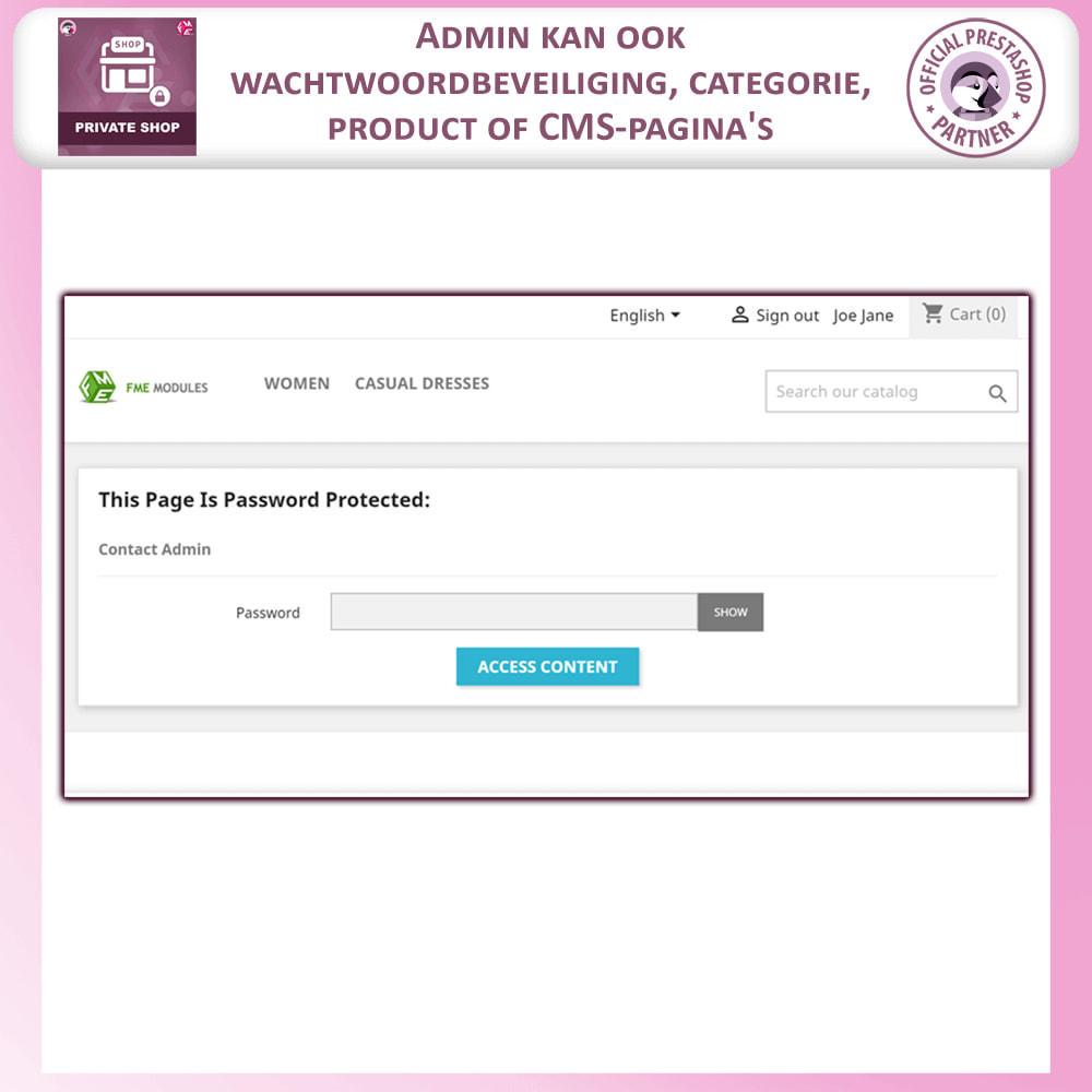 module - Uitverkoop & Besloten verkoop - Prive Winkel - Inloggen om producten te zien/Winkel - 17