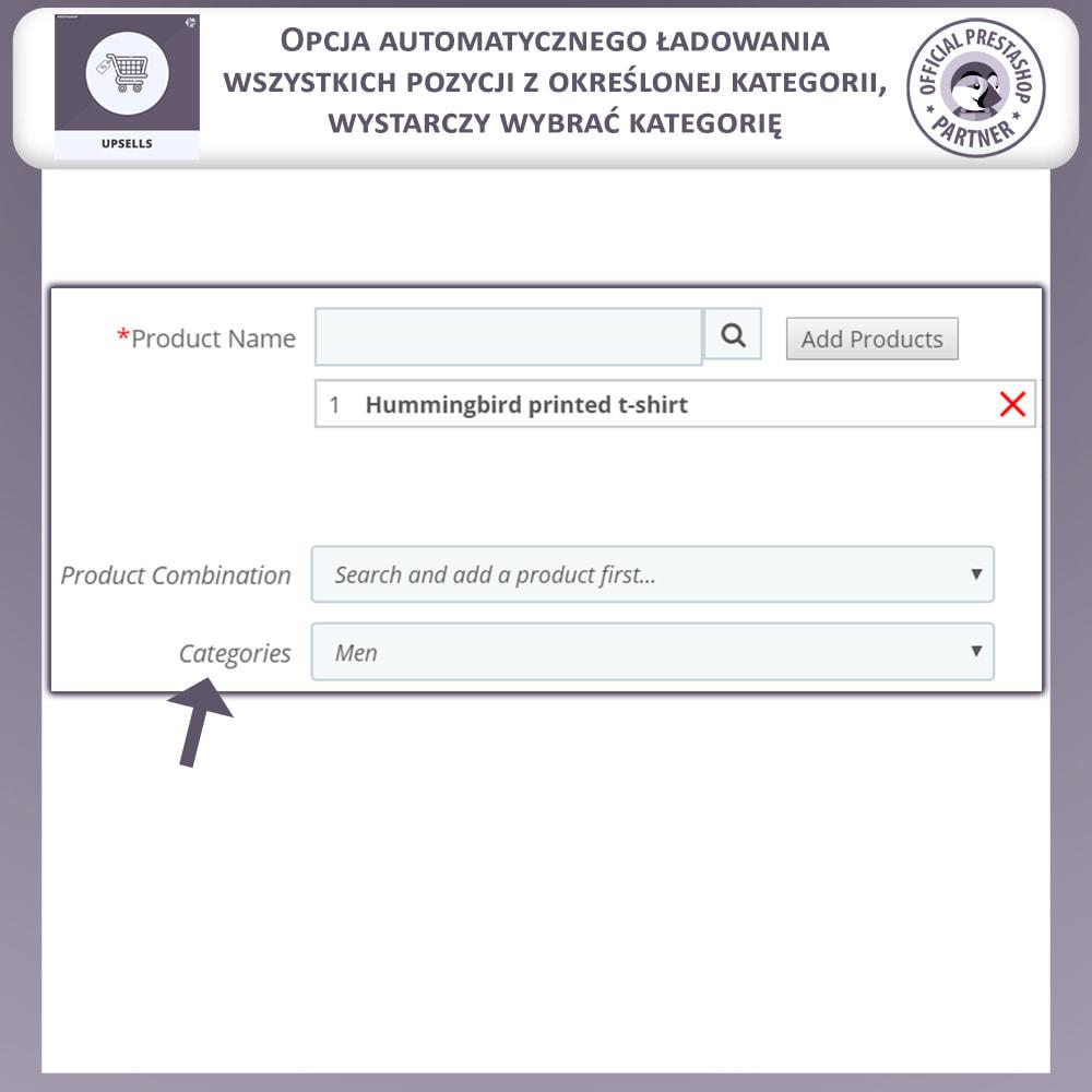 module - Sprzedaż krzyżowa & Pakiety produktów - Upsell Products - Push on Cart - 4