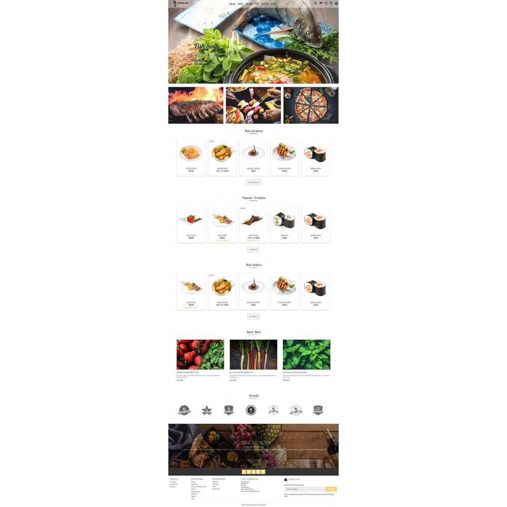 theme - Żywność & Restauracje - Restaurant Food - 3