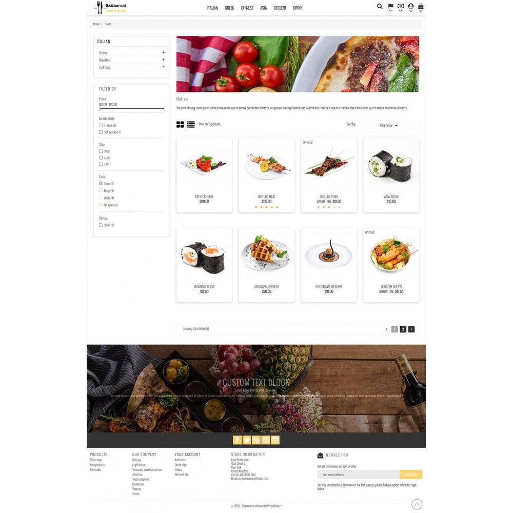 theme - Żywność & Restauracje - Restaurant Food - 5