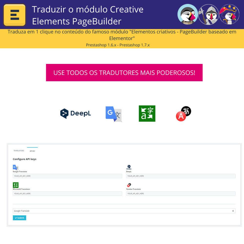 module - Internacional & Localização - Traduzir Elementor (Creative Elements e Iqit) - 2