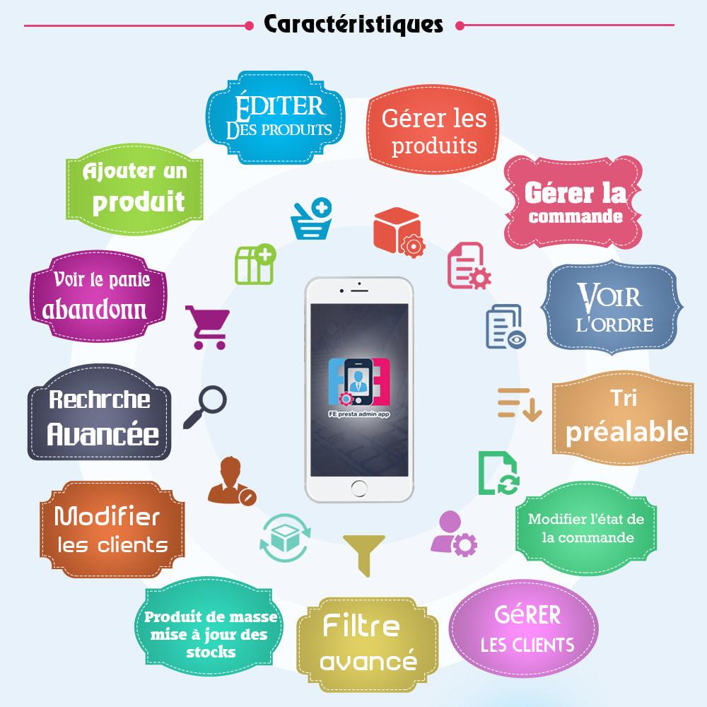 module - Mobile - FE Presta Admin App - admin de magasin facile à gérer - 1
