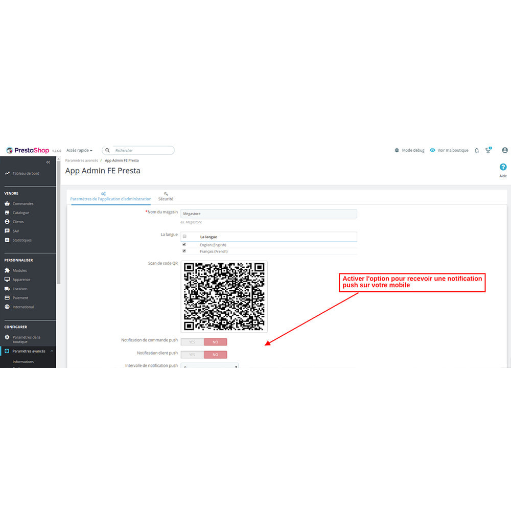 module - Mobile - FE Presta Admin App - admin de magasin facile à gérer - 6
