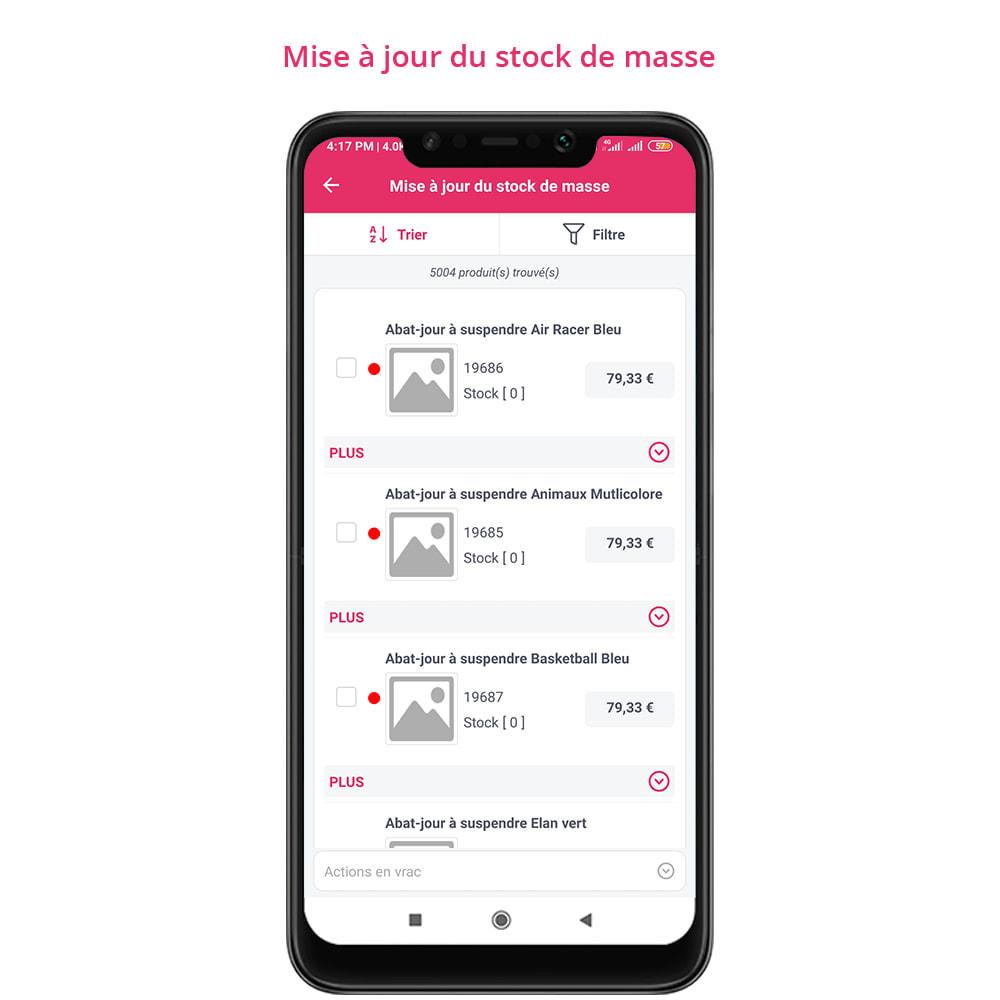 module - Mobile - FE Presta Admin App - admin de magasin facile à gérer - 13