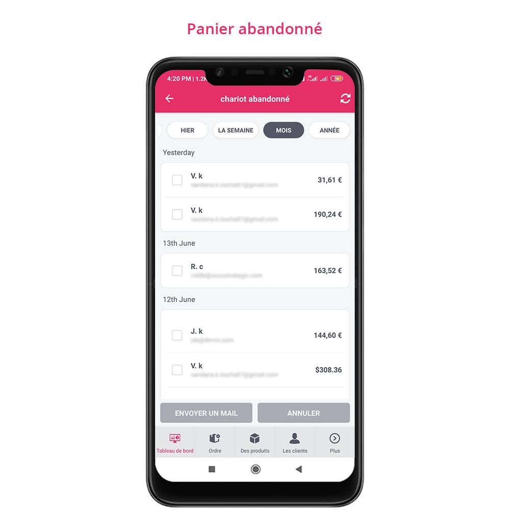 module - Mobile - FE Presta Admin App - admin de magasin facile à gérer - 14