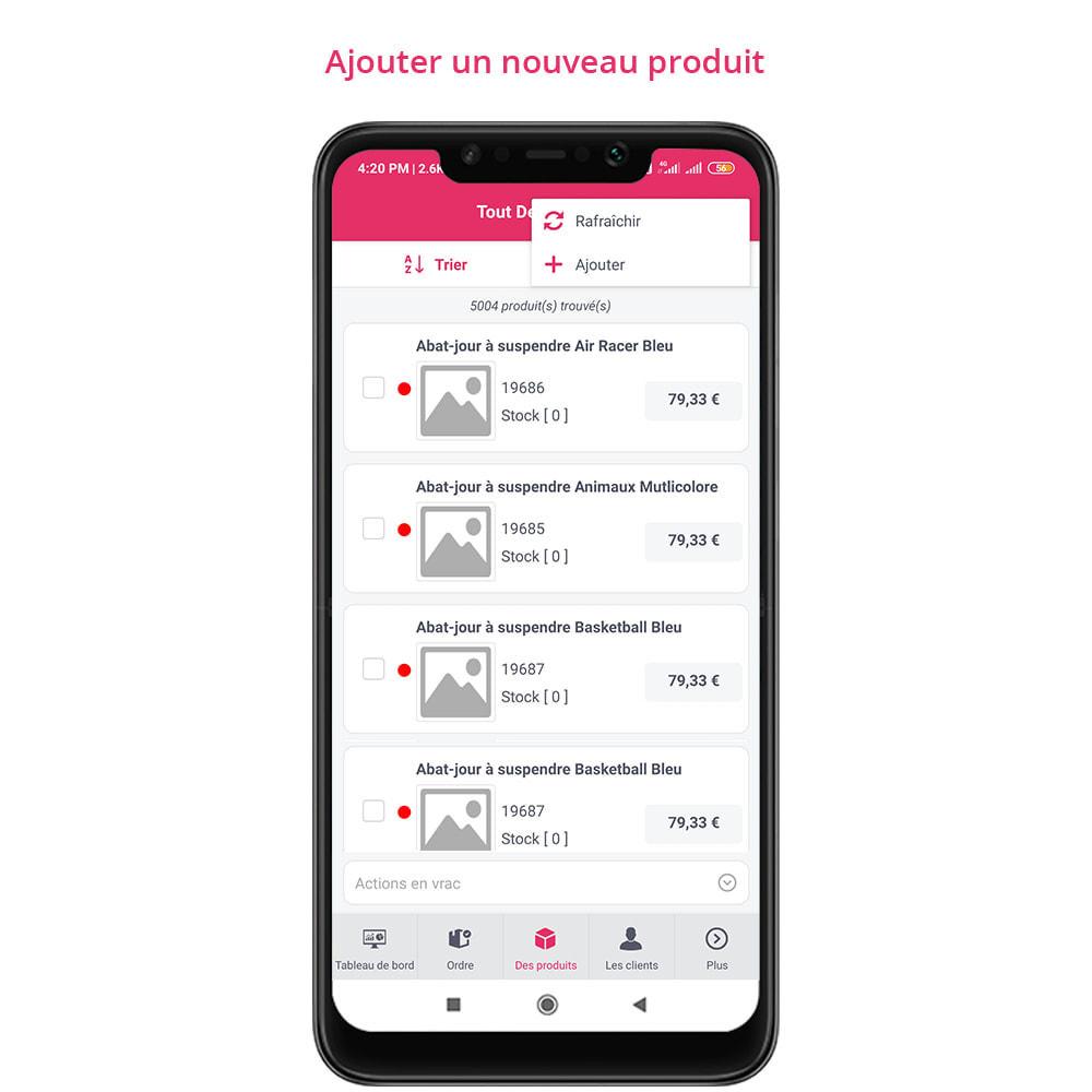 module - Mobile - FE Presta Admin App - admin de magasin facile à gérer - 19