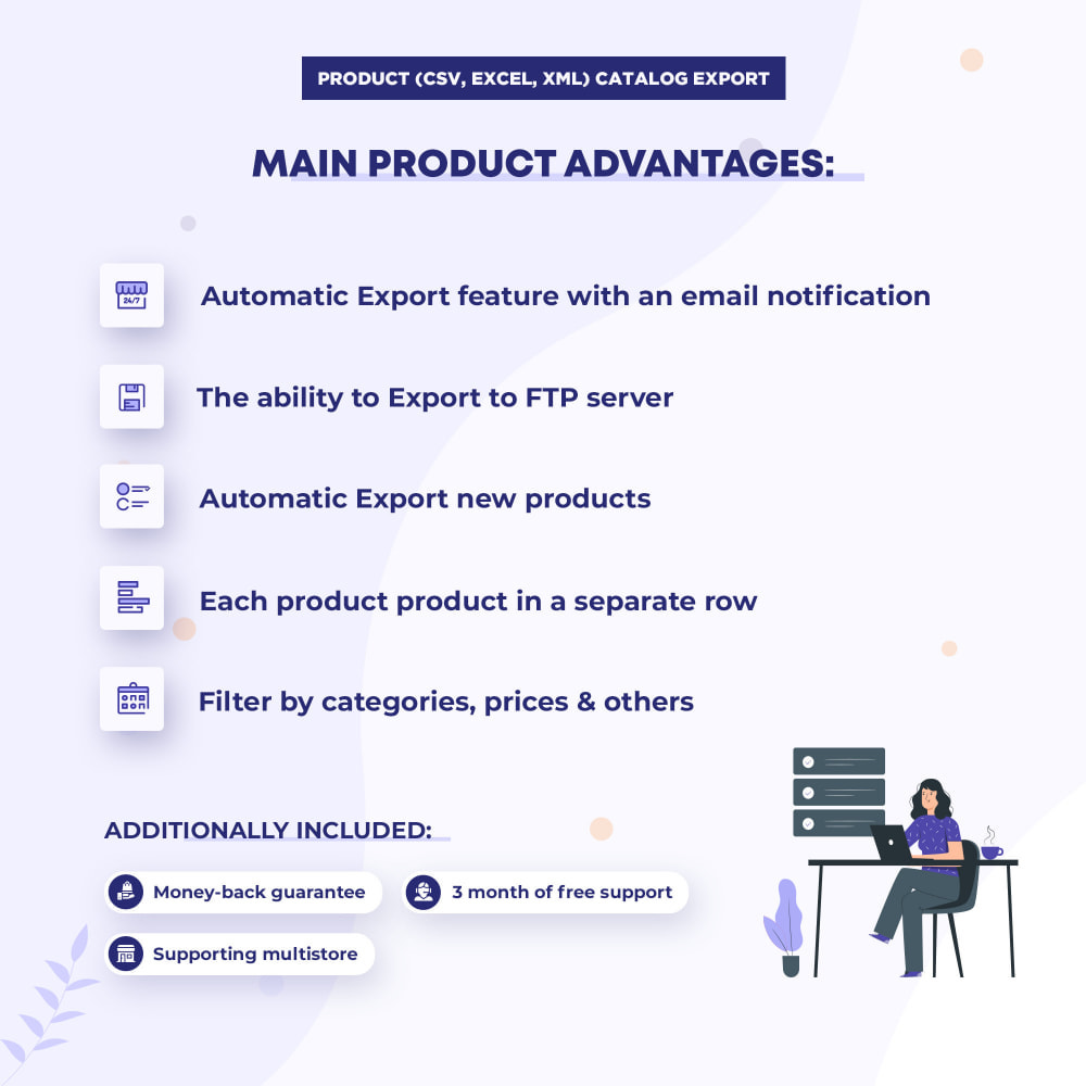 module - Data Import & Export - Product Catalog (CSV, Excel, XML) Export PRO - 2