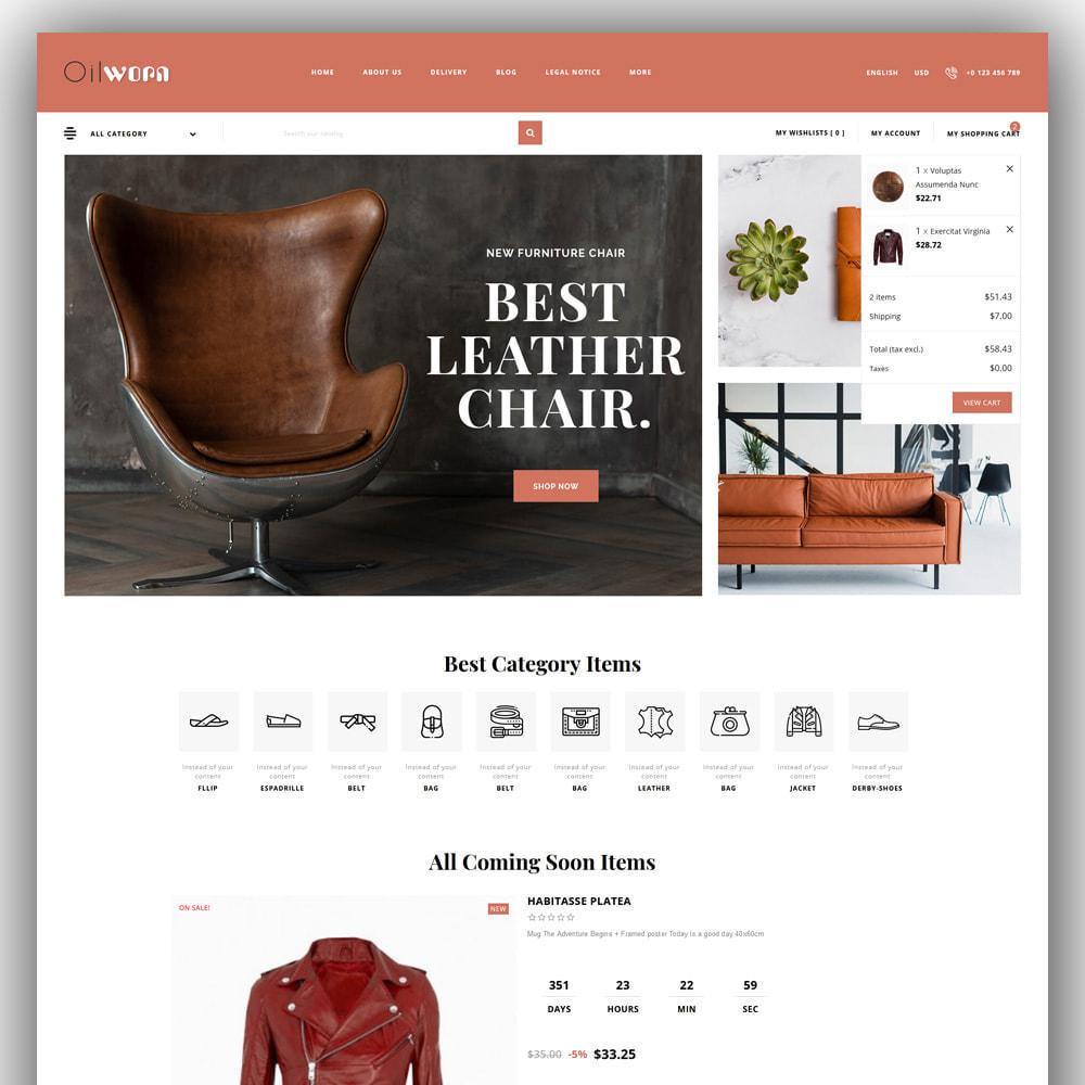 theme - Moda & Calçados - Oilworn - Leather Store - 3