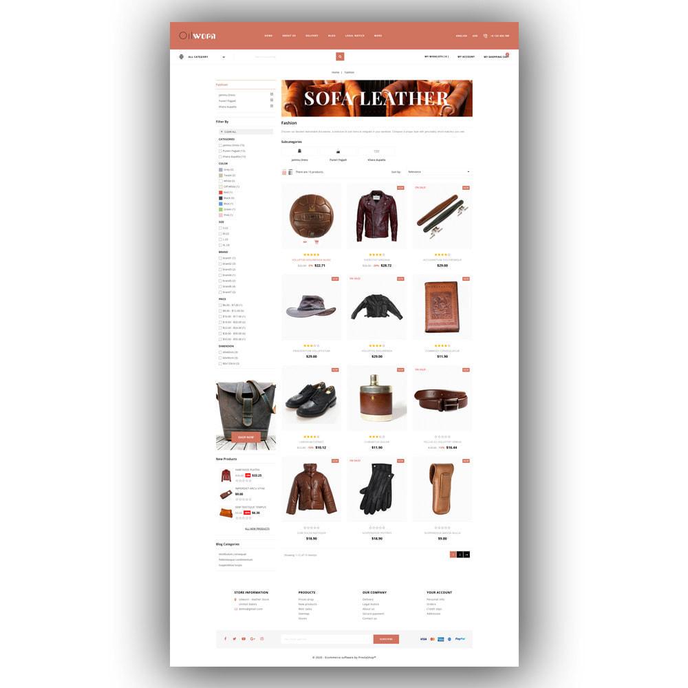theme - Moda & Calçados - Oilworn - Leather Store - 4