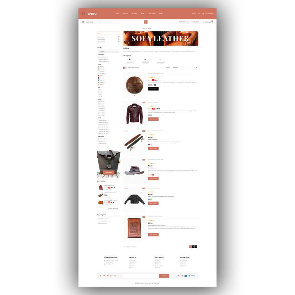 theme - Moda & Calçados - Oilworn - Leather Store - 5