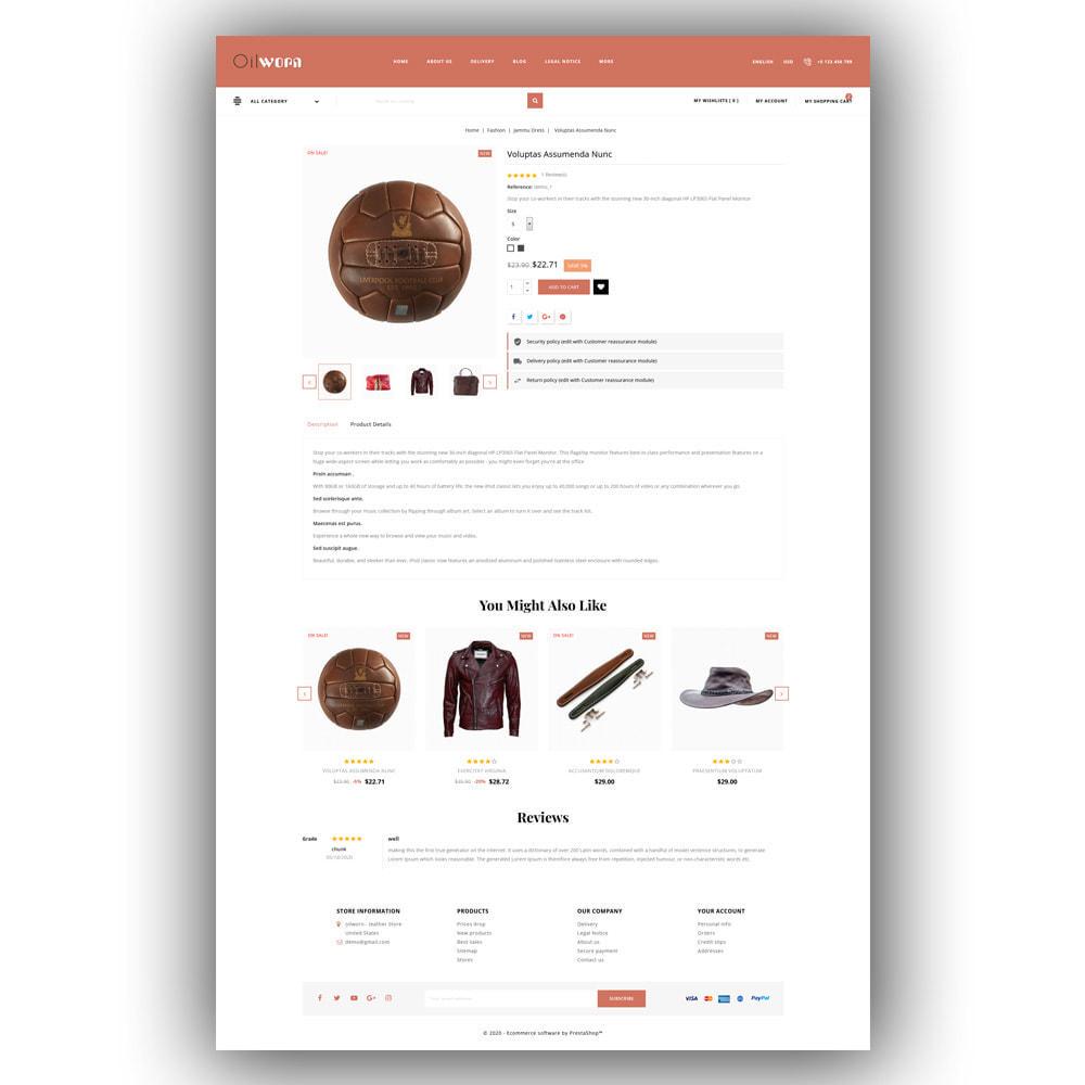 theme - Moda & Calçados - Oilworn - Leather Store - 6