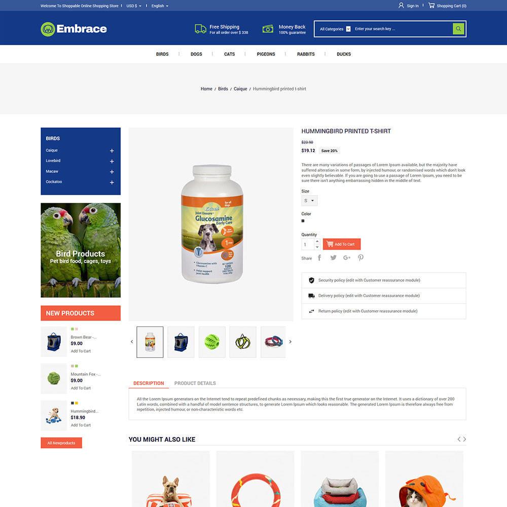 theme - Animales y Mascotas - Cat Pet - Tienda de suministros para para animales - 6