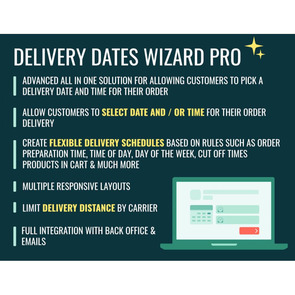 module - Fecha de entrega - Delivery Dates Wizard Pro - 1
