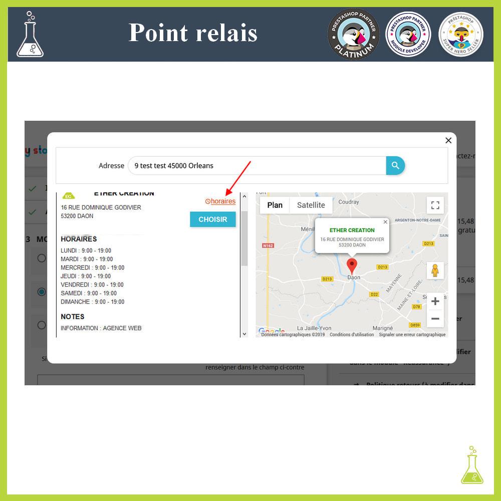 module - Point Relais & Retrait en Magasin - Gérer vos points relais - 4