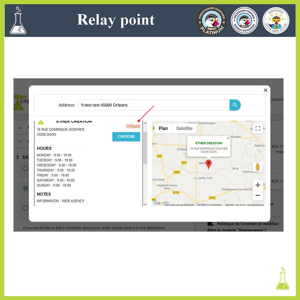 module - Paczkomaty & Odbiór w sklepie - Manage your relay points - 4