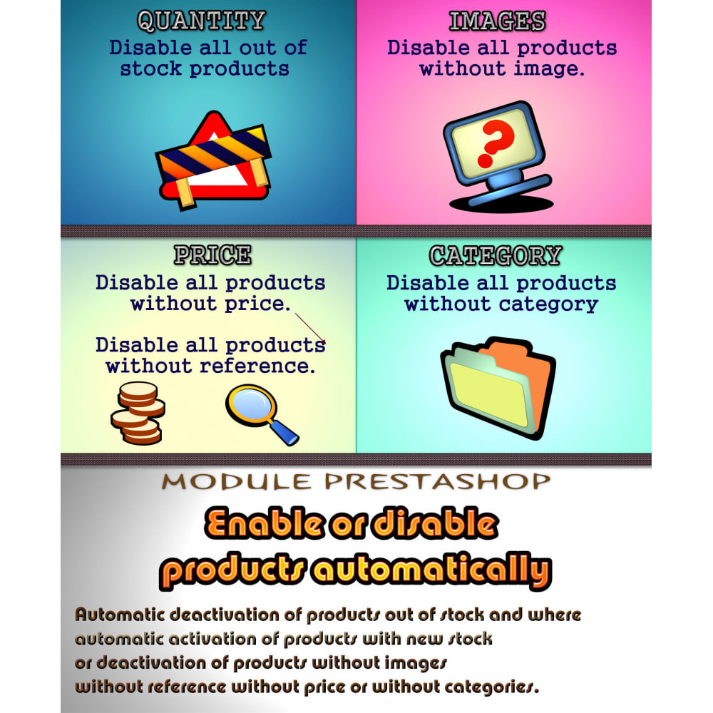 module - Estoques & Fornecedores - Enable or disable products automatically - 1