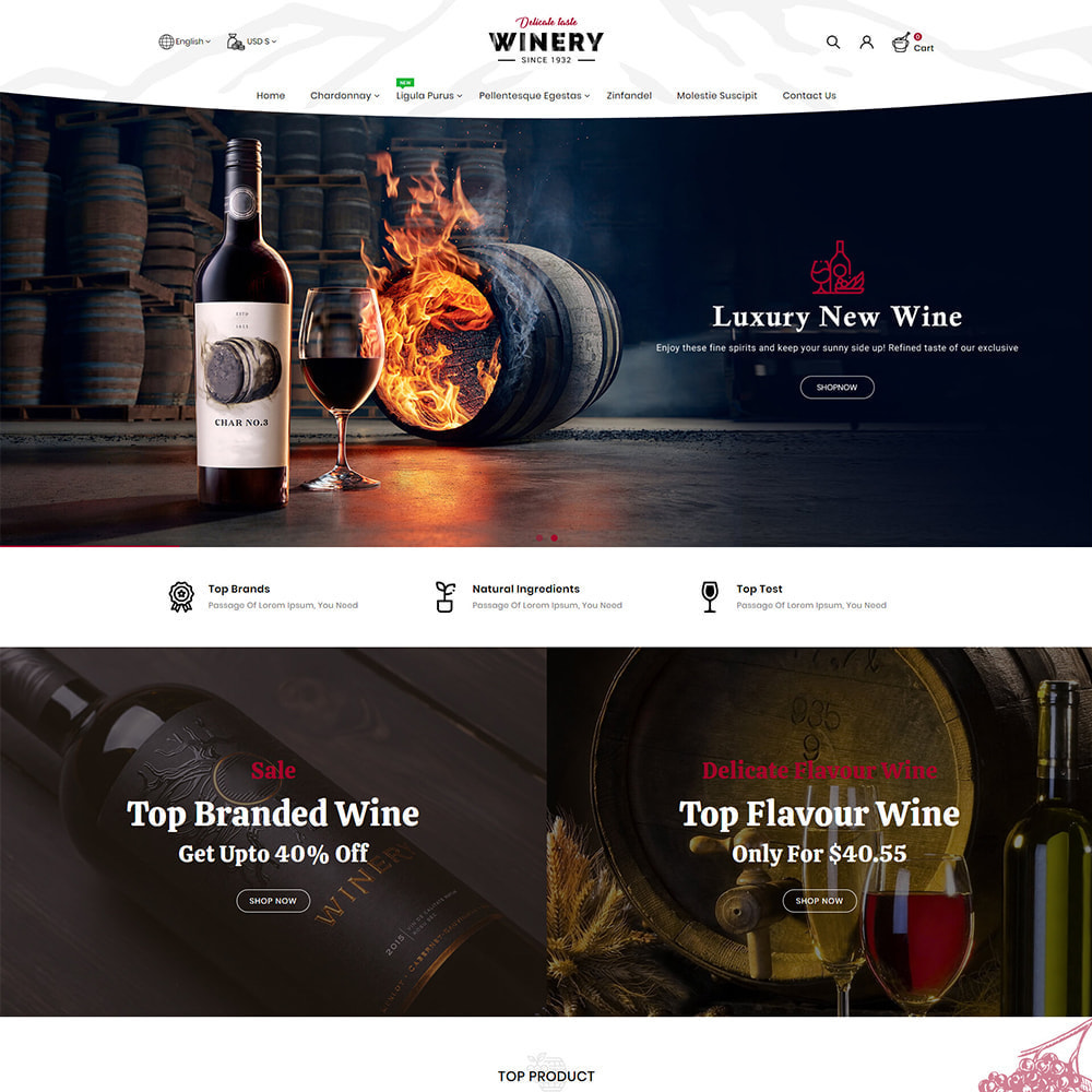 theme - Drank & Tabak - Winery - Beer & Wine Store - 2