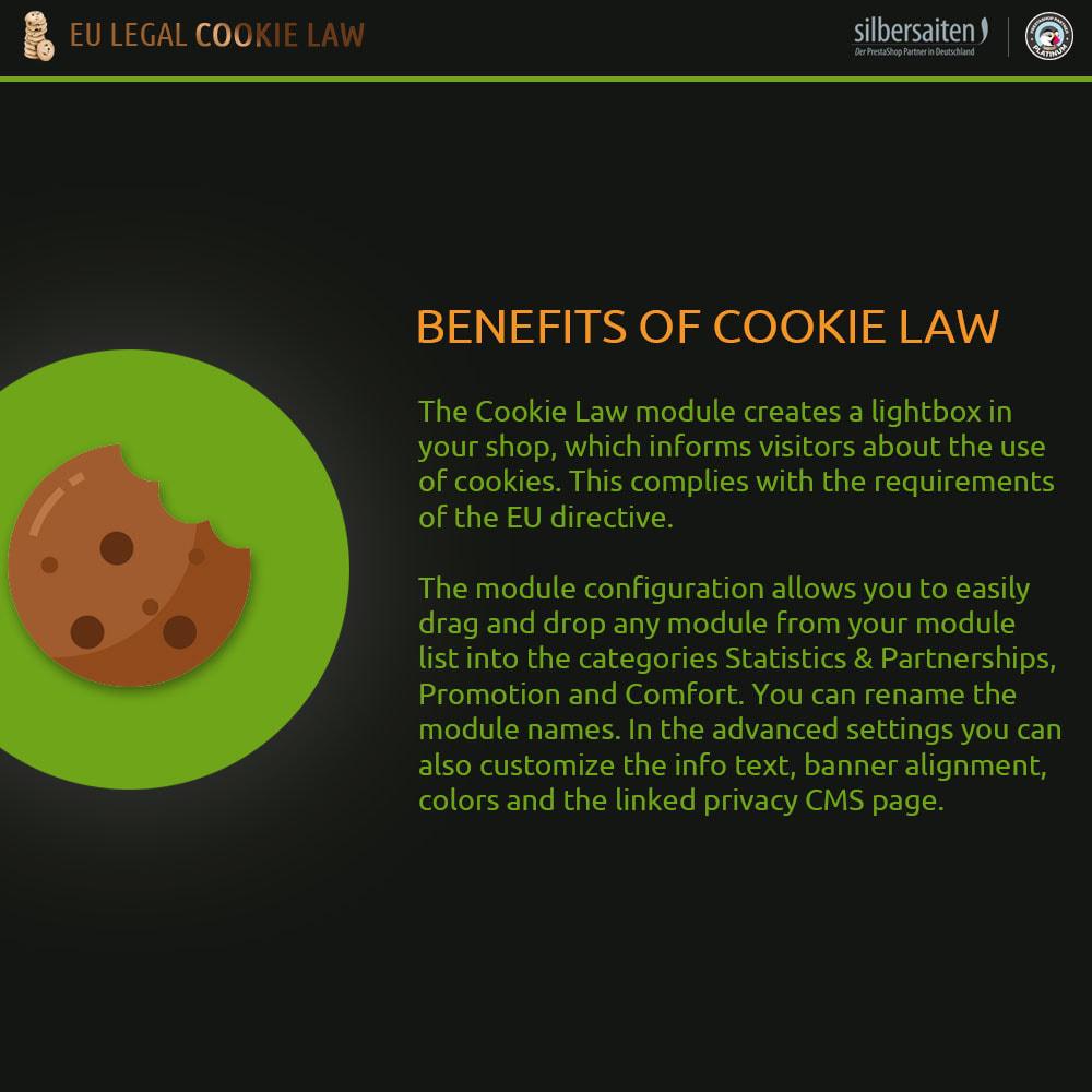 module - Rechtssicherheit - Cookie Law - 1