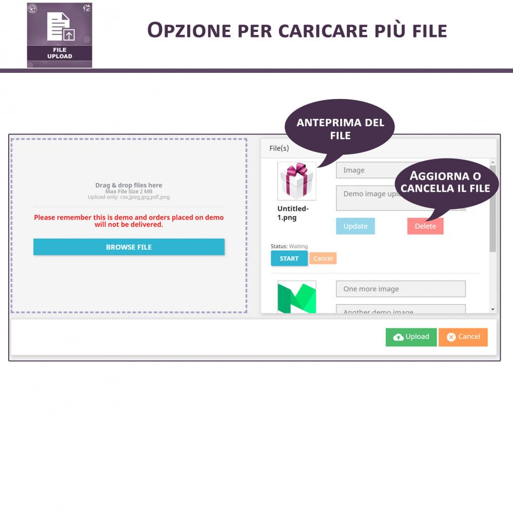 module - Altre informazioni & Product Tab - Caricamento File da Parte del Cliente - 3