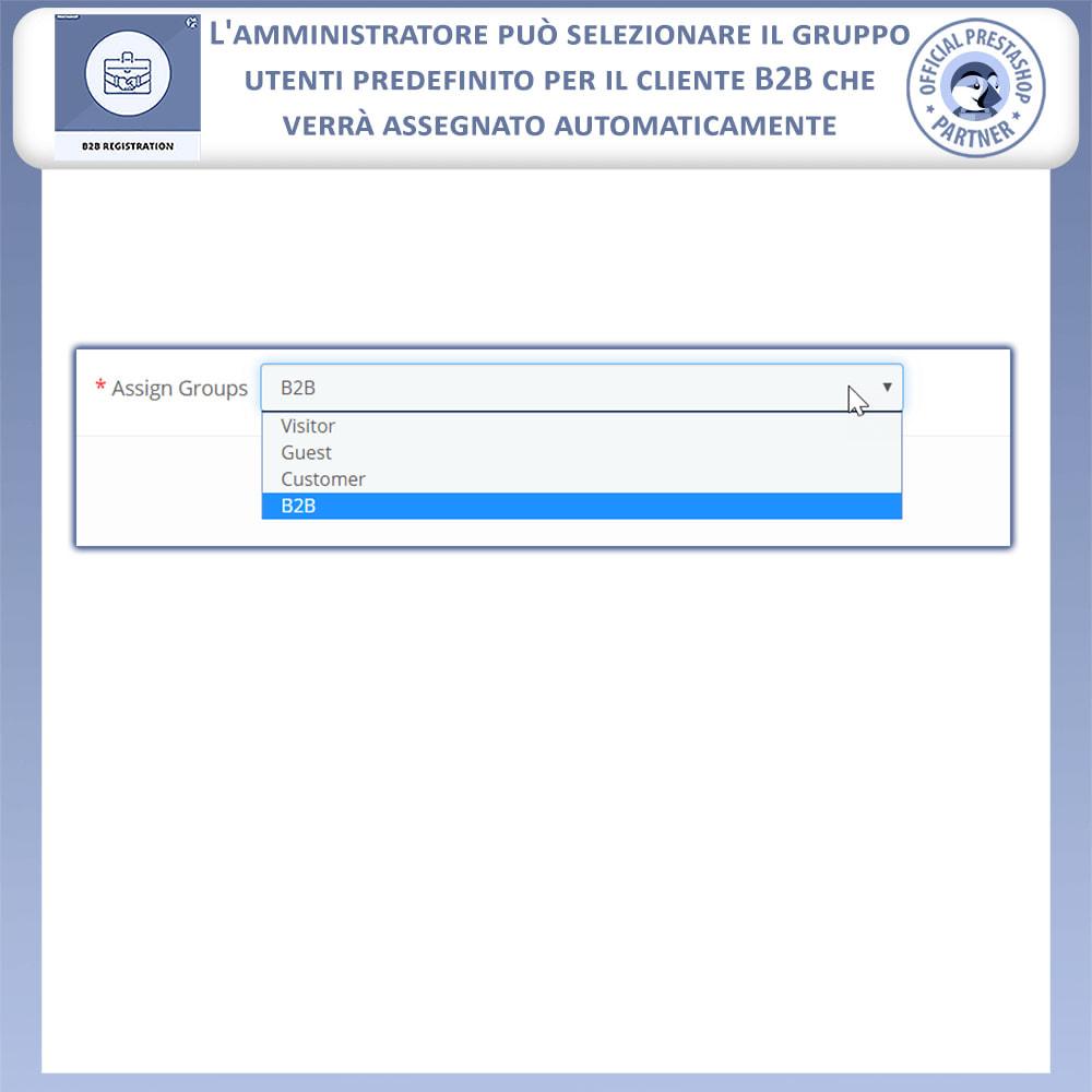 module - Iscrizione e Processo di ordinazione - Registrazione B2B - 11