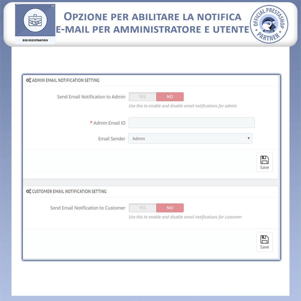 module - Iscrizione e Processo di ordinazione - Registrazione B2B - 12