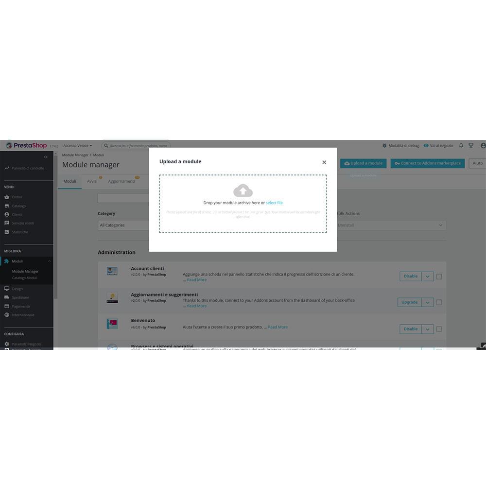 module - Dispositivi mobili - FE Presta Admin App - facile per gestire store admin - 4