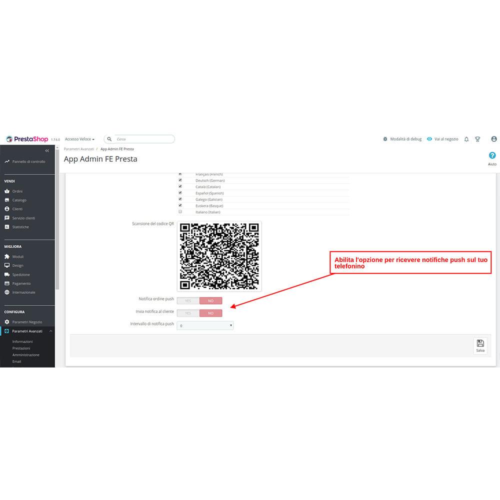 module - Dispositivi mobili - FE Presta Admin App - facile per gestire store admin - 6