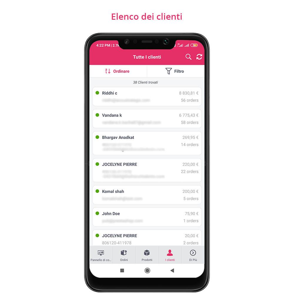 module - Dispositivi mobili - FE Presta Admin App - facile per gestire store admin - 13