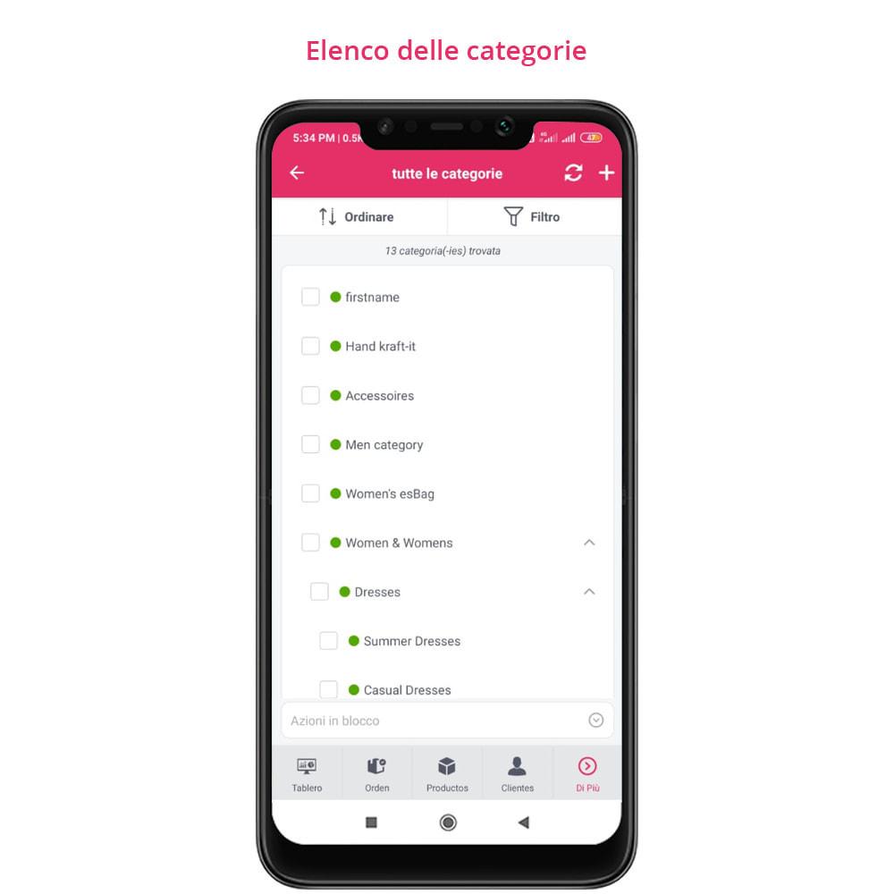 module - Dispositivi mobili - FE Presta Admin App - facile per gestire store admin - 14