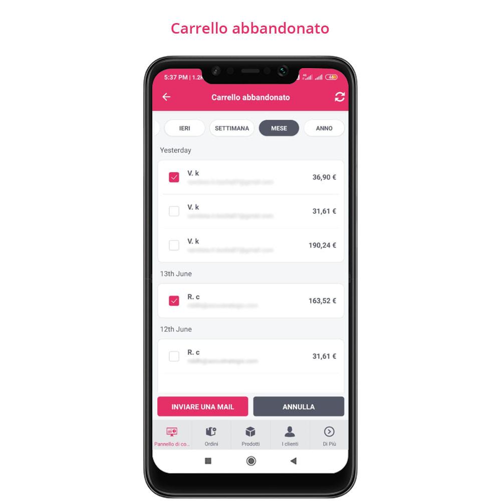 module - Dispositivi mobili - FE Presta Admin App - facile per gestire store admin - 15