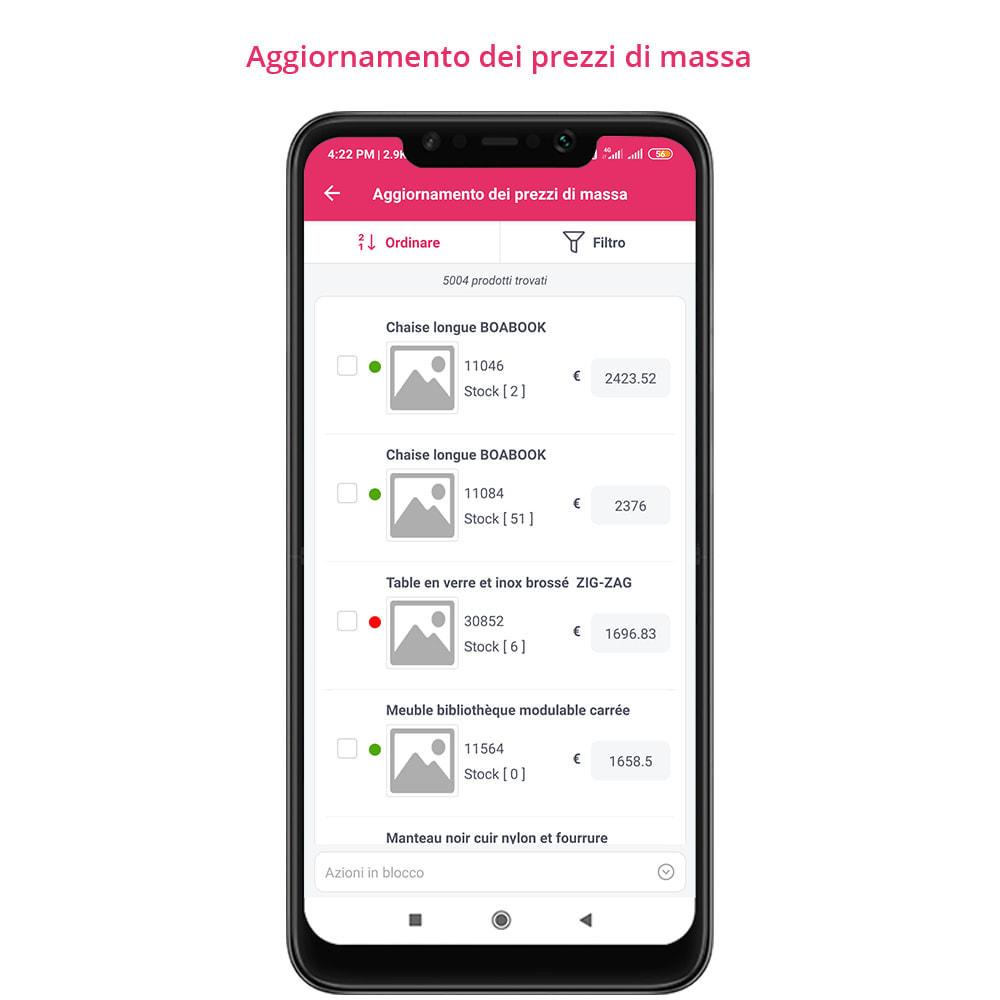 module - Dispositivi mobili - FE Presta Admin App - facile per gestire store admin - 16