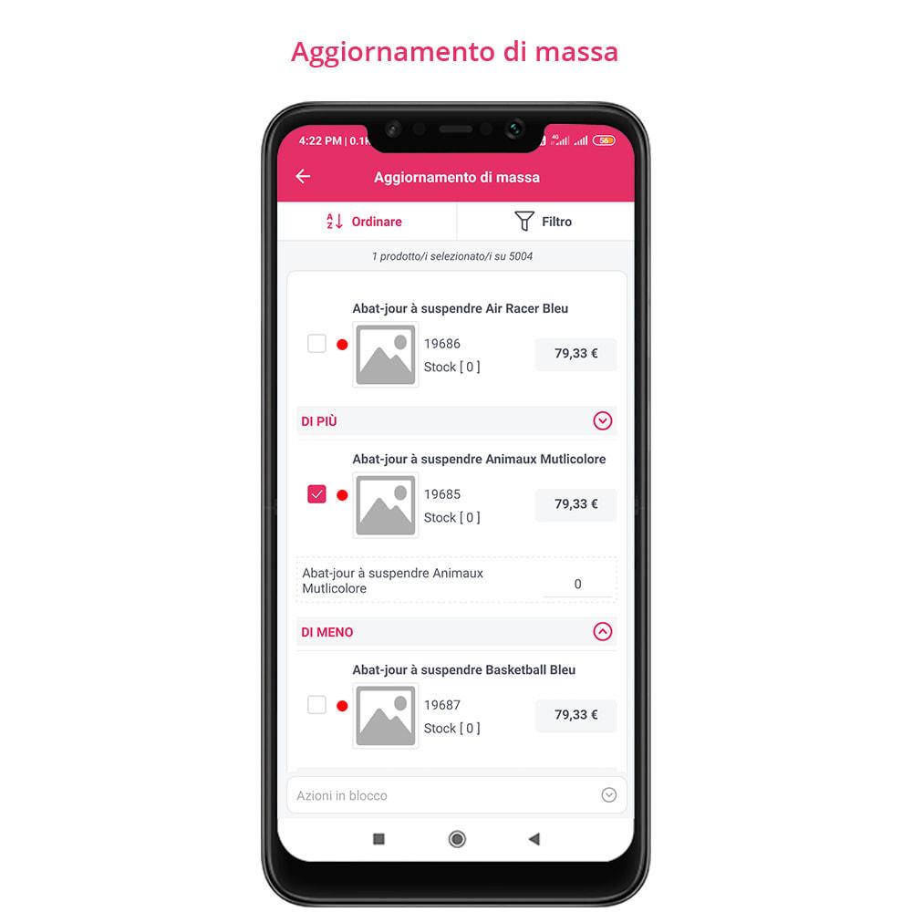module - Dispositivi mobili - FE Presta Admin App - facile per gestire store admin - 17