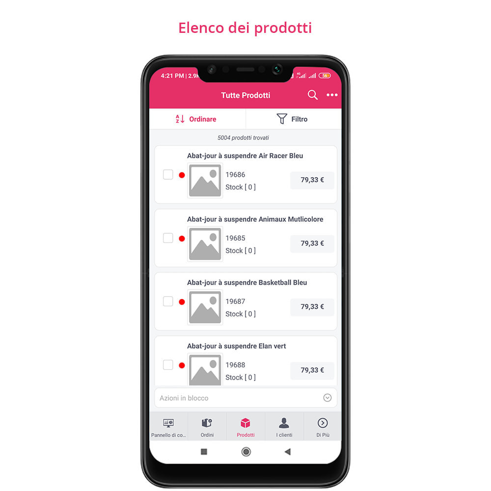 module - Dispositivi mobili - FE Presta Admin App - facile per gestire store admin - 19