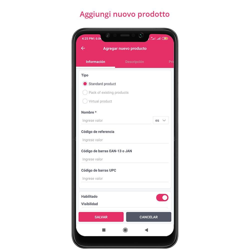 module - Dispositivi mobili - FE Presta Admin App - facile per gestire store admin - 20
