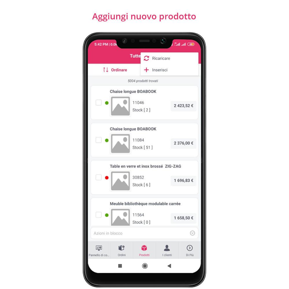 module - Dispositivi mobili - FE Presta Admin App - facile per gestire store admin - 21