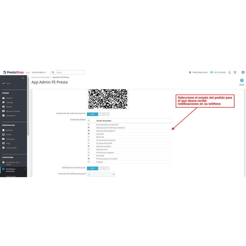 module - Dispositivos móviles - FE Presta Admin App - fácil a gestionar Tienda admin - 8