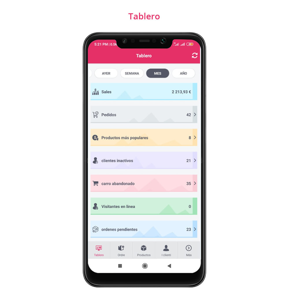 module - Dispositivos móviles - FE Presta Admin App - fácil a gestionar Tienda admin - 12