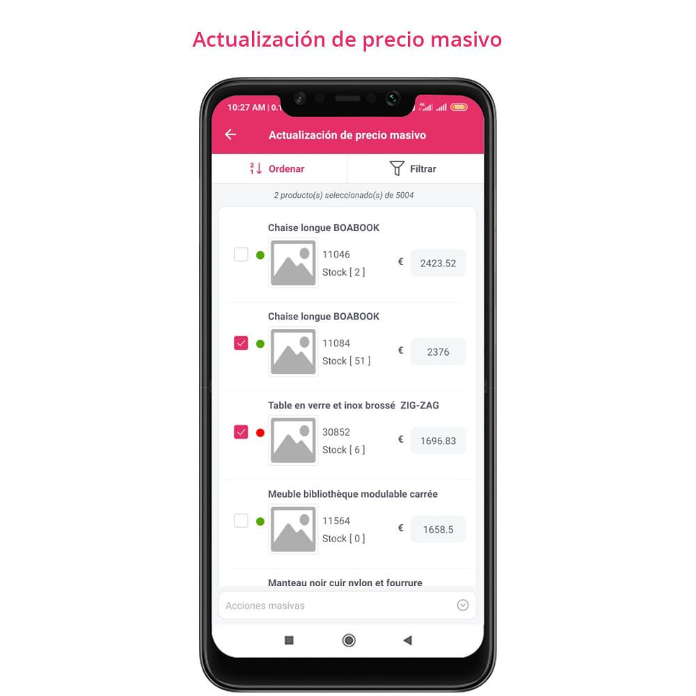 module - Dispositivos móviles - FE Presta Admin App - fácil a gestionar Tienda admin - 16