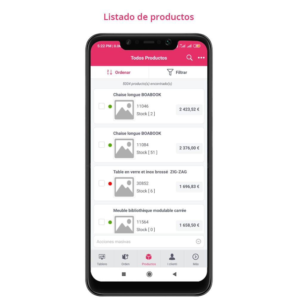 module - Dispositivos móviles - FE Presta Admin App - fácil a gestionar Tienda admin - 19