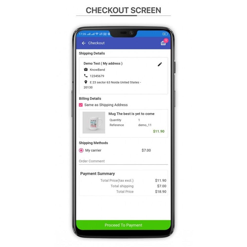module - Mobile - Knowband - PWA Mobile App - 6